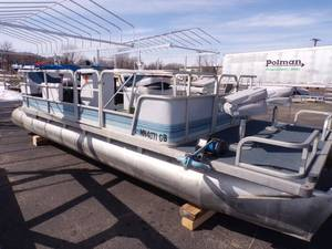 1992 Northwoods 21' Pontoon with 40 HP Yamaha