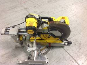 DEWALT 15 Amp 12 in. Double Bevel Sliding Compound Miter Saw Assorted  used in good condition