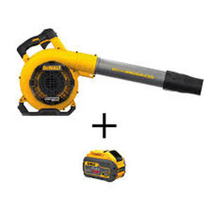 Dewalt 60-Volt MAX Lithium-Ion Cordless FLEXVOLT 129 MPH 423 CFM Handheld Leaf Blower in good condition