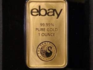 One Ounce .9999 Gold Bar, No Tax on...