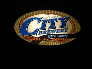 City Brewery Lighted Sign, New, 19x...