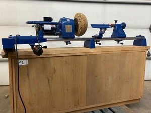Coronet Record Power Wood-Turning Lathe