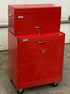 Stack-On Two-Piece Tool Chest