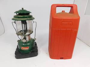 Coleman Lantern and Gas Can