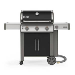 (New) Weber Genesis II E-315 3-Burner Natural Gas Grill in Black with Built-In Thermometer