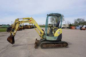 2006 Yanmar Model Vio 27-3 Mini Tracked Excavator