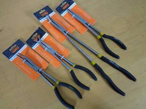 4 New Specialty Long Nose Pliers