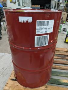 Lot of (1) Drum of Exxon Mobil UNIVIS HVI 13 55-Gallon
