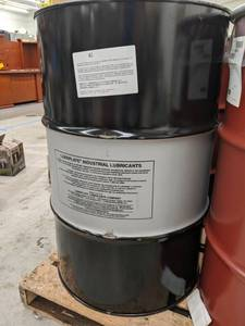 Lot of (1) Drum of Lubriplate MTO DR Air Compressor Oil AC-3 55-Gallon