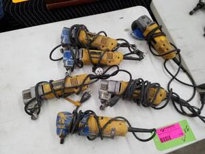 Lot of (6) DeWalt Right Angle Nibbler