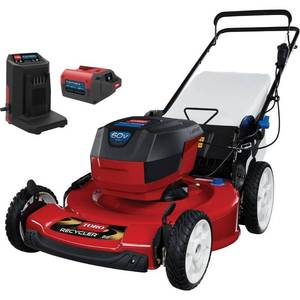 TORO Recycler 22 in. 60-Volt Lithium-Ion Cordless Battery Walk Behind Push Lawn Mower - 6.0 Ah Battery/Charger Included