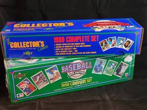 1989 & 1990 Upper Deck Baseball Sealed Factory Sets