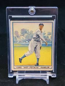 1941 Play Ball GUM, INC.Baseball Card Luke Hamlin