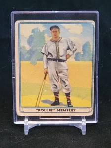 1941 Play Ball GUM, INC.Baseball Card Ralston Hemsley