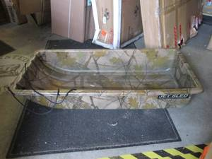 Camo Eagle Claw Jet Sled Good Condi...