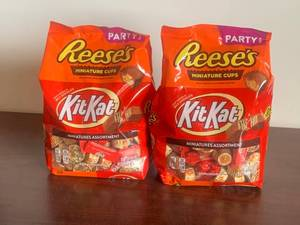 Reese's and KitKat