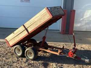 Heavy Duty Dumping Lawn Trailer