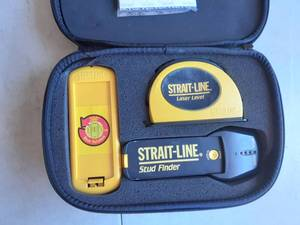 Strait-Line Laser Level And Stud Finder