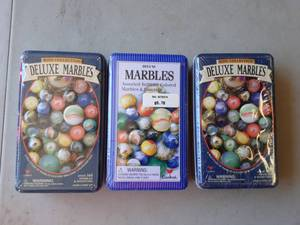 3-Unopened Marble Sets