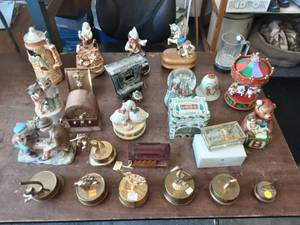 Collection Of Music Boxes
