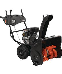 "POWER CARE 24"" Two-Stage Gas Snow Blower W/ Electric Start and Headlight"