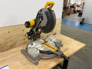 "DEWALT DW716 12"" Miter Saw with Blade"