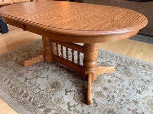Oak Kitchen or Dining Table