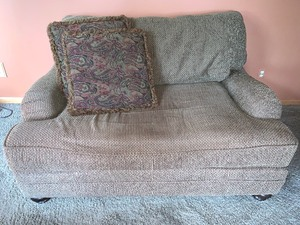 Upholstered Small Sofa/ Love Seat