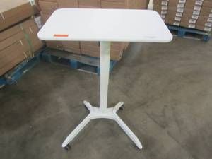 Woodmaya Adjustable Standing Desk Raiser in White - 07 WMDKR-0007WT - LOW RESERVE!