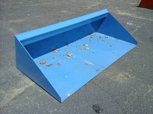 "70"" Material/Snow Bucket (Skid Steer Attachment)"