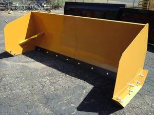 8' Snow Pusher (Skid Steer Attachment)