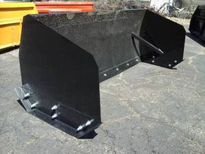 7' Snow Pusher (Skid Steer Attachment)