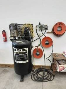 Black Max 6.5 Hp 80 Gallon Air Compressor