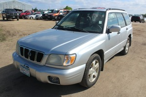 2002 Subaru Forester S - 5 Speed Manual -