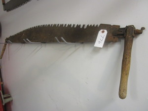VINTAGE TWO MAN SAW