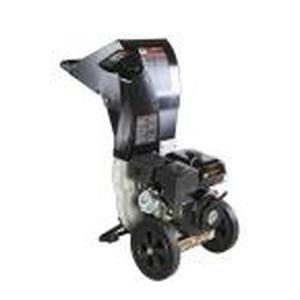 BRUSH MASTER 5.25 x 3.75 in. 445cc Self Feed Gas Chipper Shredder with 120V Electric Start, Unique 3-in-1 Discharge