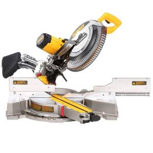 DEWALT 15 Amp Corded 12 in. Double Bevel Sliding Compound Miter Saw (NOT USED)