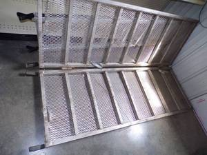 Folding Aluminum Ramp