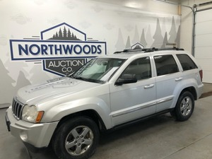 2005 Jeep Grand Cherokee Limited 4x4 -No Reserve-