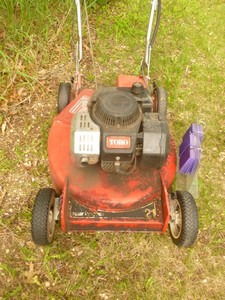 "Toro 21"" Push mower. Good running condition. As shown."