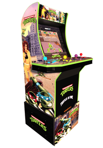 Teenage Mutant Ninja Turtles Arcade Machine w/ Riser, Arcade1UP NEW