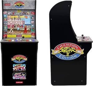 Arcade1Up Street Fighter - Classic 3-in-1 Home Arcade 4Ft