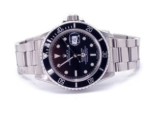 Rolex Submariner 16800 Black Dial 40mm Watch, Box & Warranty Included; $11,850 Retail