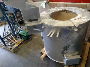 Aluminum Smelting Furnace, Approx. ...