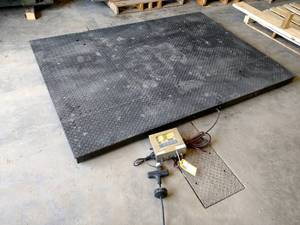 Rice Lake Rough Deck Floor Scale, D...