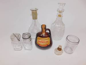 Miscellaneous Bottles & Small Jars
