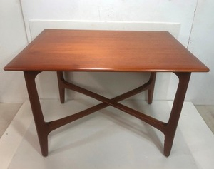 Mint Condition Vintage Signed Danish Modern Teak Coffee/Side Table - Folke Ohlsson for DUX