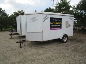 2008 Carry On 6x12 Enclosed Trailer
