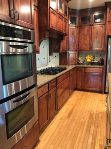 COMPLETE CUSTOM KITCHEN WITH APPLIANCES