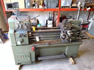 "Cut King Gap-Bed Engine Lathe, 16"" ..."